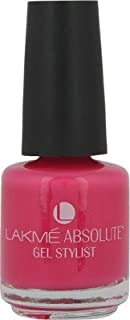 Lakme Absolute Gel Stylist 15 ml (Pink Burst)