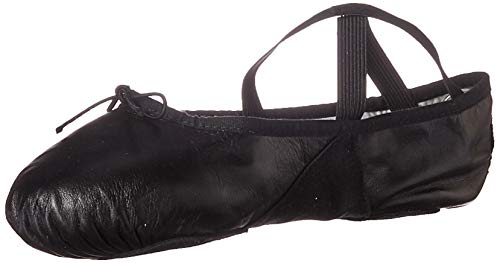 black split sole ballet shoes - 6