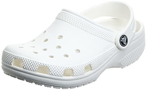 Crocs Crocs Unisex Classic Pantoffeln, White, 48/49 EU