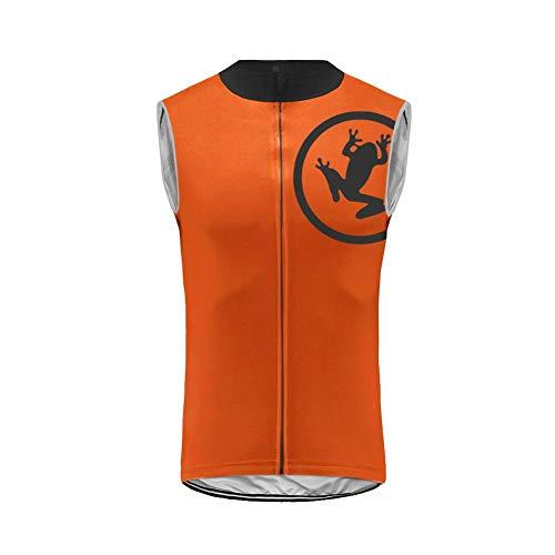 Uglyfrog Cycling Jersey de Ciclo para Hombre Sin Mangas Profesional de Bicicletas de Montaña y Carretera Accesorios de Ciclismo ESH19VS10