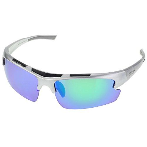 DUCO polarizzato Fashion designer occhiali da sole sportivi per ciclismo da baseball pesca Golf TR90 Superlight 6200
