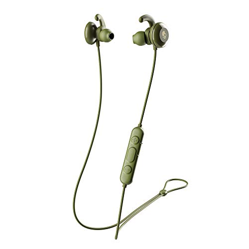 Skullcandy Method Wireless In-Ear-Kopfhörer mit Mikrofon, Schwarz/Grün