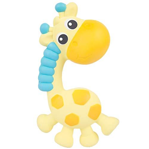 Playgro Anneau de Dentition et Hochet Jerry la Girafe, Dès la naissance, Multicolore, 40202