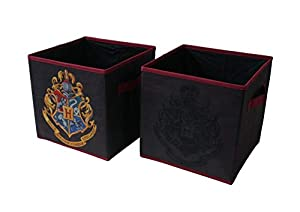 KID FRIENDLY DESIGN: These spacious storage cubes features adorable graphics from Harry Potter. Designed with Harry Potter graphics from the famous brand. The perfect addition to your child's bedroom, closet or playroom. The design on these durable c...