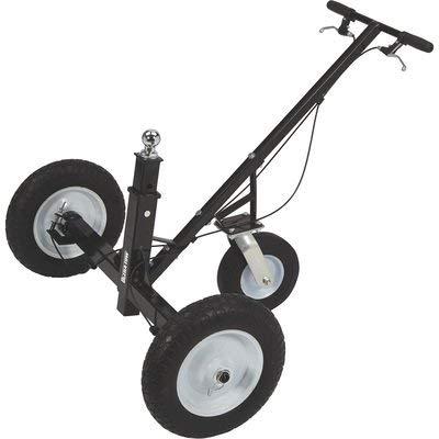 Ultra-Tow Heavy-Duty Adjustable Trailer Dolly with Brake - 1000-Lb. Capacity