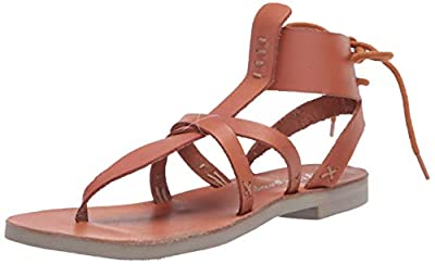 Free People Vacation Day Wrap Sandal Natural 41 (US Women's 11) M