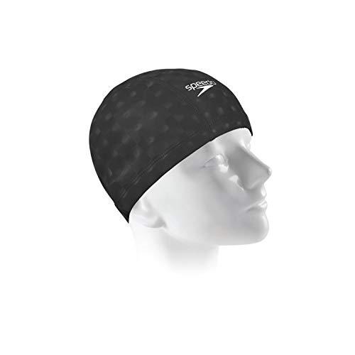 Touca Comfort 3D Cap Speedo Único Preto, Preto, Único
