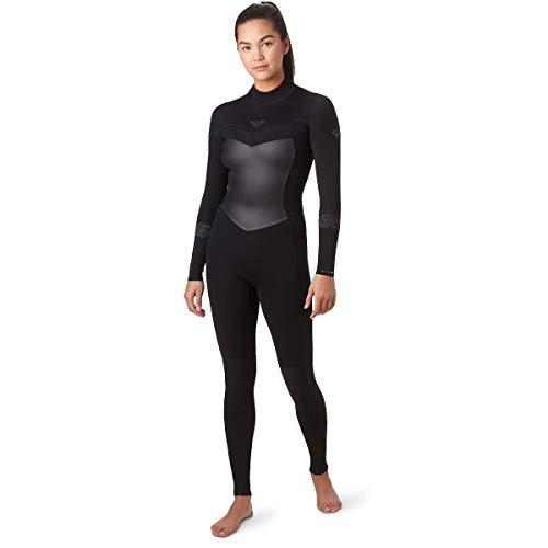 Roxy 3/2 Syncro Back-Zip GBS Wetsuit - Women's Black/Jet Black, 14