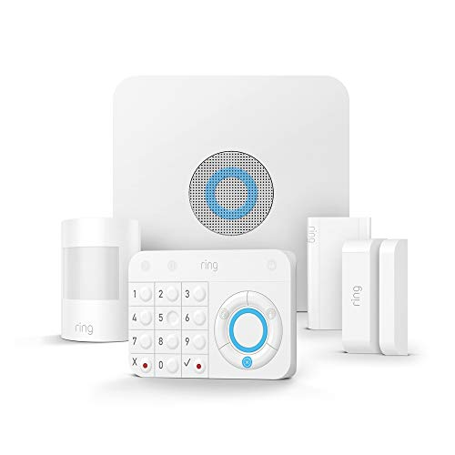 Ring Alarm 5 Piece Kit – Home Security System with optional Assisted...