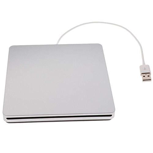 Abilieauty USB 2.0 Externo Unidad Óptica DVD CD Grabadora Conductor para PC...