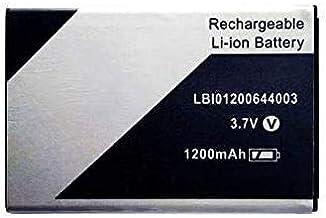 Mobacc Mobile Battary for Lava Spark i7, Spark i8, PC11623, LBI01200644003 1200 mAh