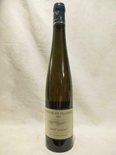 50 cl VDP jardin de France domaine de villemont virginie liquoreux 2005...