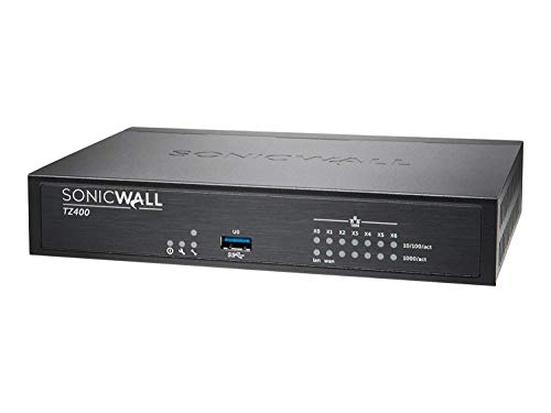 Dell Sonicwall 01-SSC-0514 TZ400 Security Appliance 7 Ports 10MB/100MB LAN, GigE