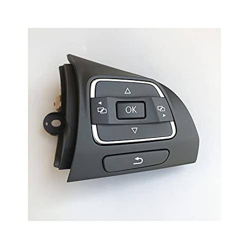 ZXCVBNM Botones Control Volante Coche Fit for Jetta MK6 Golf MK6 EOS...