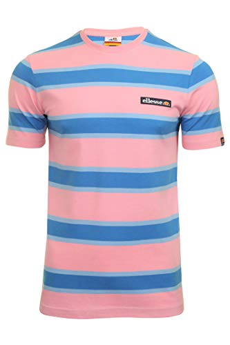 ellesse Pluto T-Shirt pour Homme M Rose Clair