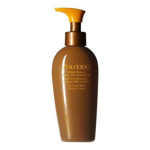 Shiseodo Sun Care Brilliant Bronze Quick Self-Tanning Gel Selbstbräunungsgel, 150 ml