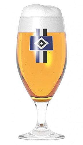 HSV Biertulpe 2er Set 0,3l Gläser mundgeblasenes Glas