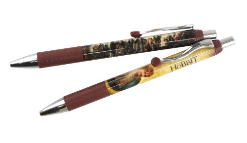 The Hobbit Movie Bilbo Baggins Cast 2 Gel Pens Set