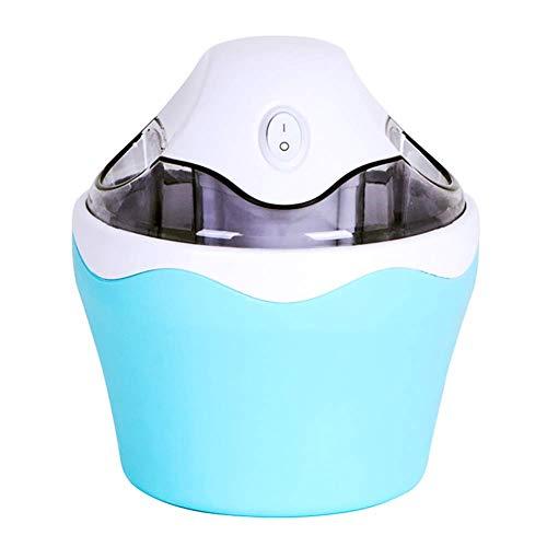 QWEAS Automatische Eiscreme-Hersteller, Gefrorenes Dessert-Maschine, One-Key-Switch Automatische Low-Decibel Frozen Yogurt Maschine Hausgebrauch, 800ml