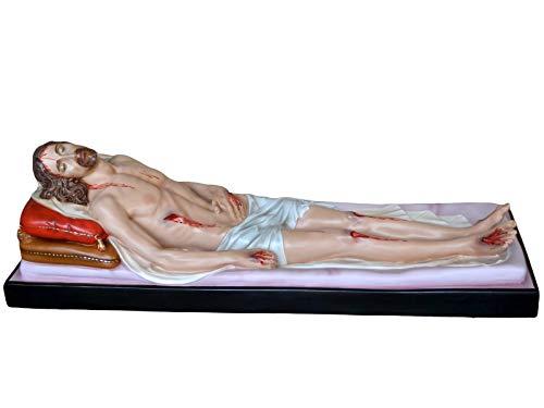 Toter Jesus Statue cm 150 Fiberglas, geeignet für Innen- und Außenräume, hergestellt in Italien