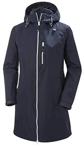Helly Hansen W Long Belfast Jacket Chaqueta, Mujer, Navy, XL