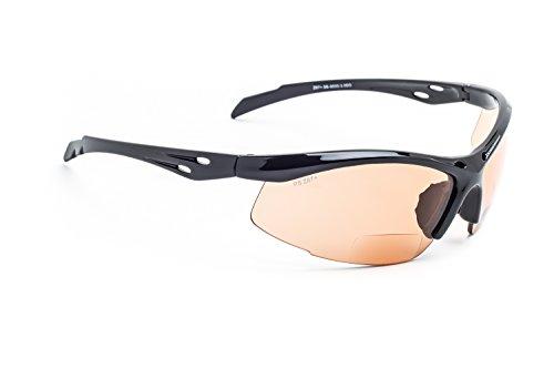 Gafas de seguridad bifocales SB-9000 con lentes naranjas