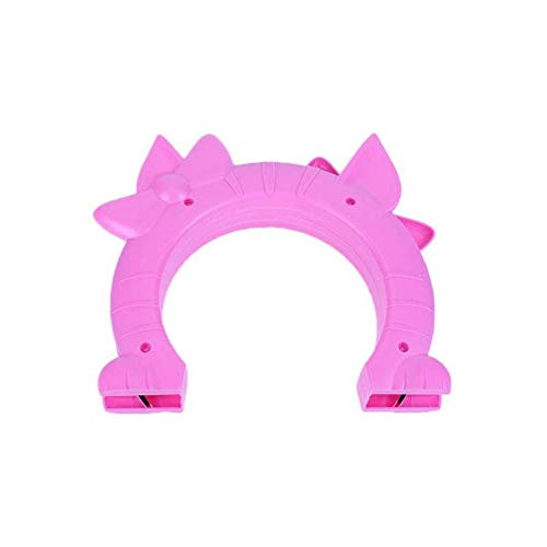 Pet Kreative Plastik Hunde Fenster Tor Und Mauer Eintrag Kitten Puppy Doorway Wand Pet Free Out Door Pet Supplies, Geeignet Für Katzen Und Hunde Zu Betreten Und Verlassen Frei,Rosa,24*27*18cm