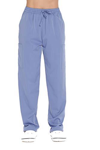 Just Love - Pantalones de trabajo para mujer, Ceil, L