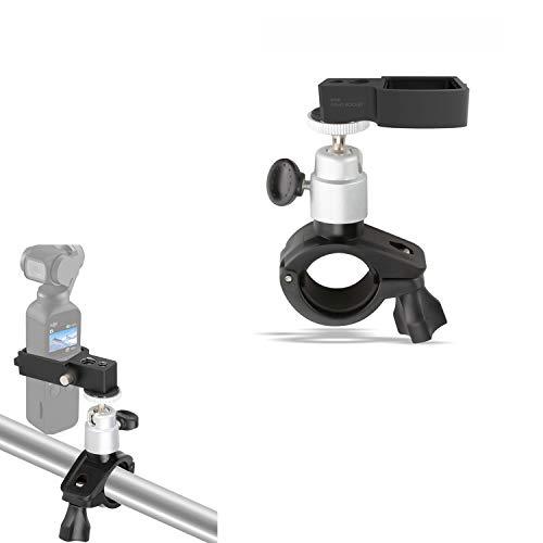 Kismaple Staffa per Bici portabiciclette Bici per Supporto per DJI OSMO Pocket Fotocamera Gimbal