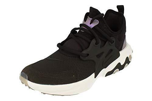 Nike React Presto (GS), Zapatillas de Atletismo para Hombre, Multicolor (Black/Black/Violet/White 7), 38.5 EU