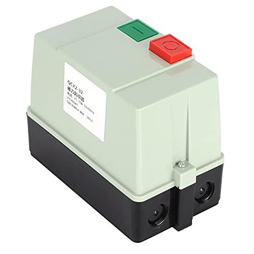 Arrancador Magnético Trifásico, Arrancador Magnético Eléctrico Material ABS De Alta Resistencia Para Compresores De Aire Para Grúas Torre