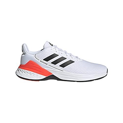 adidas Response SR, Zapatillas de Running Hombre, FTWBLA/NEGBÁS/Rojsol, 43 1/3 EU