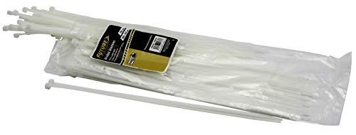 Future 100037 kabelbinders, wit, 390 x 4,8 mm, 100 stuks