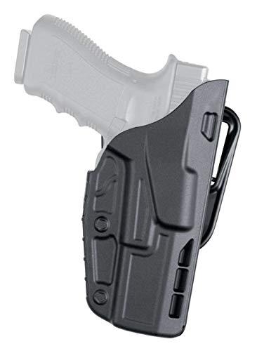 Safariland 7377 7TS ALS Belt Slide Concealment Holster, H&K VP9, Plain Black, Left Hand,