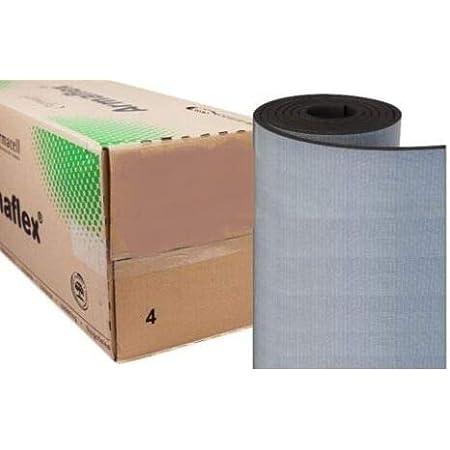 20m/² D/ämmplatte selbstklebend, 6mm - 1m/² Markenqualit/ät Insul-Roll XT D/ämmmatte selbstklebend Kautschuk Isoliermatte 6mm D/ämmdicke D/ämmung Isolierung 1m/²