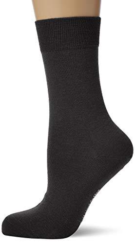 KUNERT Damen Soft Wool Cotton Socken, Schwarz (BLACK 0070), 35/38