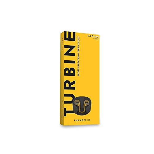 Rhinomed Turbine Nasal Dilator for Athletic Breathing, Medium