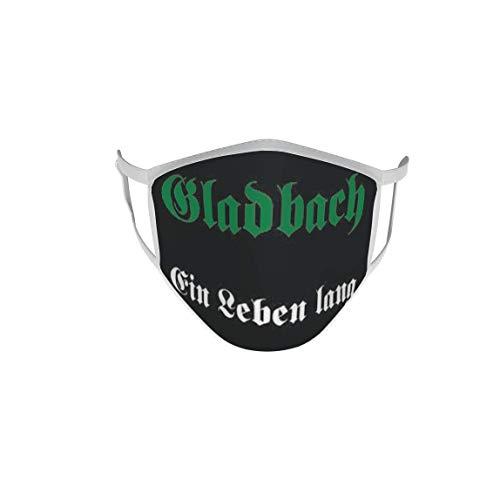 U24 Behelfsmaske Mund-Nasen-Schutz Stoffmaske Maske Gladbach EIN Leben lang