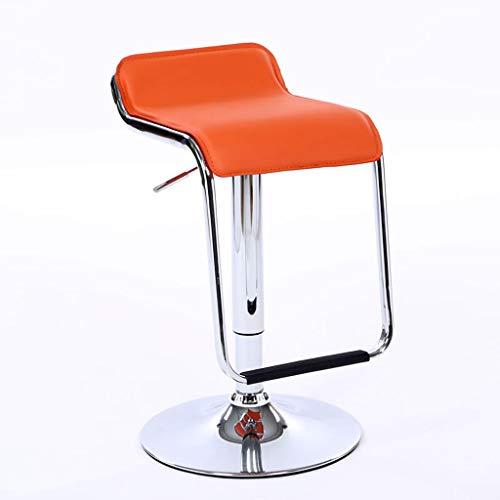 Homyl Chaise de Meubles denfants Tabouret Rond Orange