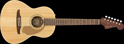 Fender Sonoran - Guitarra acústica (tamaño pequeño), color natural
