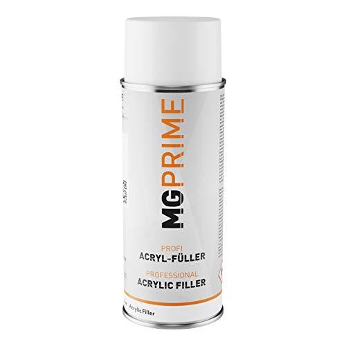 MG PRIME Füller Spritzfüller Haftgrund Grundierung Spritzspachtel für Autolack grau Spraydose 400 ml