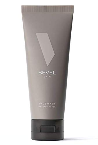 Face Wash with Tea Tree Oil by Bevel - Coconut Water, and Vitamin B3, to Cleanse, Hydrate and Revitalize Skin, 4 fl oz.