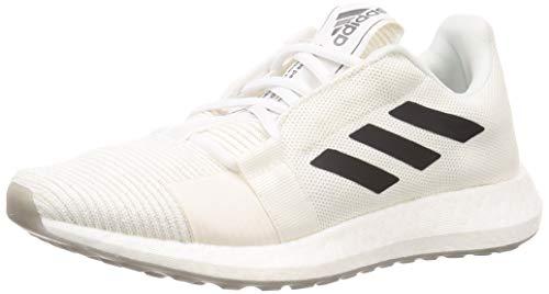 adidas Herren Senseboost Go M Laufschuhe, Grau (FTWR White/Grey Six/Chalk White), 44 EU