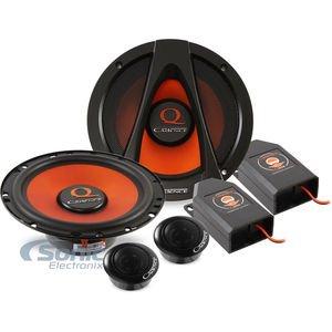 "Cadence Acoustics Q65K 300W 6.5"" 2-Way Q Series Component Car Speaker System, Set of 2"