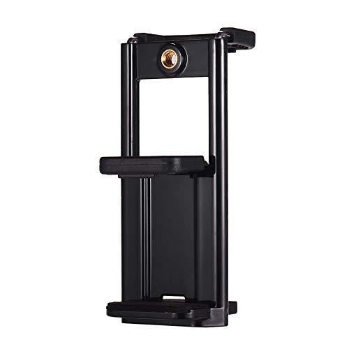 Andoer Adaptador de Montaje de Soporte de Soporte para Tableta de teléfono Multifuncional con 1/4 de Hilo para Tableta de teléfono Inteligente Compatible con trípode Monopod Selfie Stick