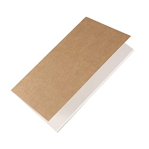 TOYMYTOY 12Pezzi Taccuino in bianco Mini Kraft Paper Notebook Pocket Memo Quaderni Diario,15.5 x 8.6 cm