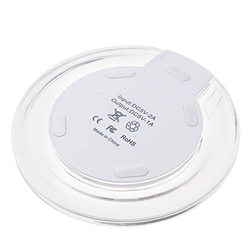 D2D Qi Wireless Charger, Wireless Qi Standard Charging Pad Samsung S8 S7 S6 Edge iPhone 6 7 8 X