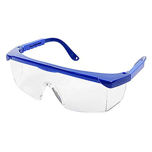 SUPVOX Schutzbrille Staub Wind Beweis Brillen UV Schutz Schutzbrille Brillen (Blau)