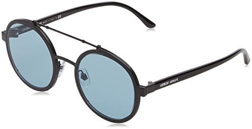 Giorgio Armani 0AR6070 Gafas de sol, Matte Black, 45 para Hombre