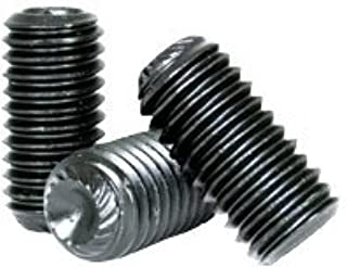 "3//4/""-10 x 7//8/"" Length Cup Point Black Oxide Steel Set Screws 10 Pieces"